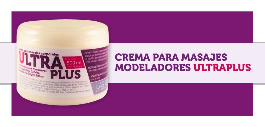 Crema para masajes ultraplus
