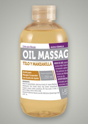 OIL MASSAGE | TILO y MANZANILLA